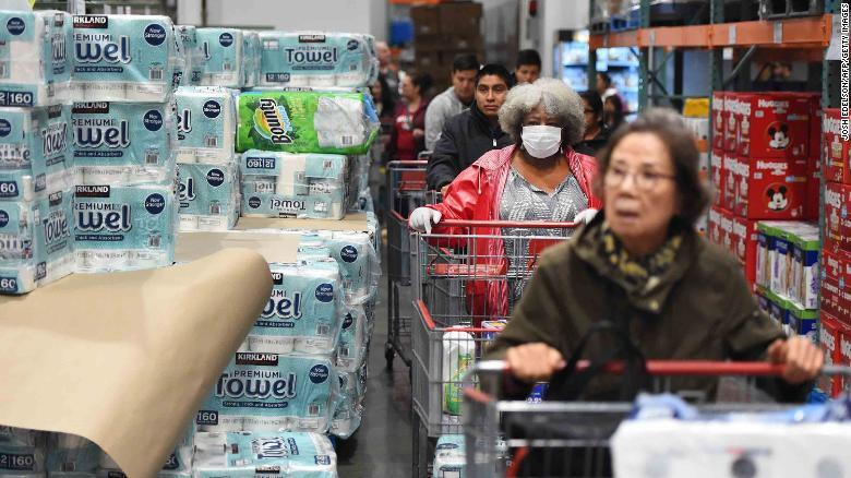 Surging Grocery Comps Could Rocket Into Double Digits As Worried Quarantiners Lock Themselves Down