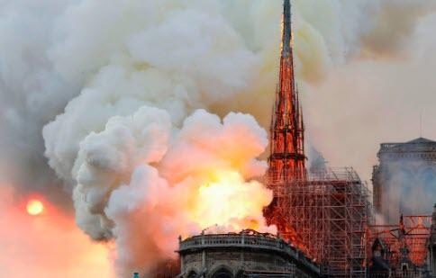 The Internet Erupts With Speculation About Who Started The Notre Dame Fire