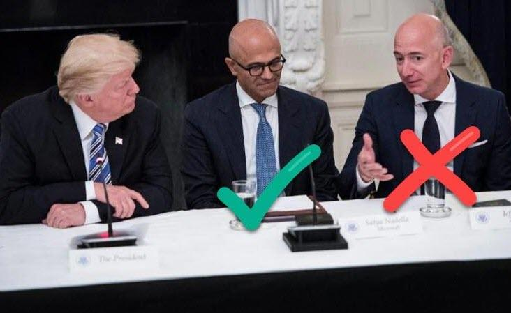 Trump-Bezos Round 2: Amazon Faces Broad Antitrust Probe Of Cloud Business