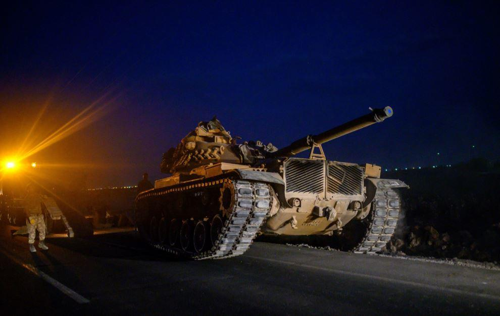 Watch Turkish Troops & Tanks Travel Into Syria As US Backs Away