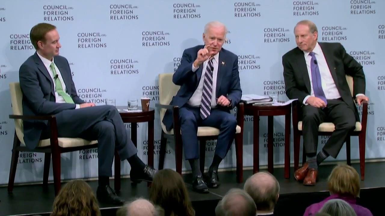 Joe Biden: Return Of The CFR