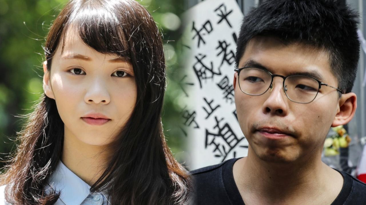 Hong Kong Activists Joshua Wong & Agnes Chow Jailed For Defying Beijing