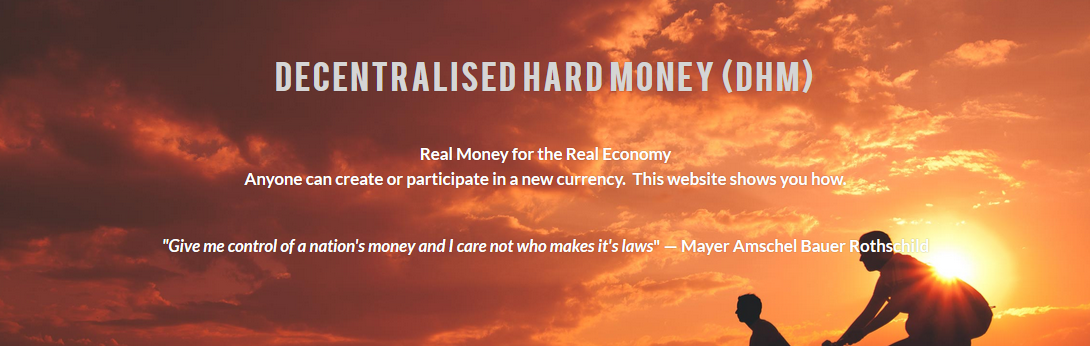 Decentralised Hard Money Logo