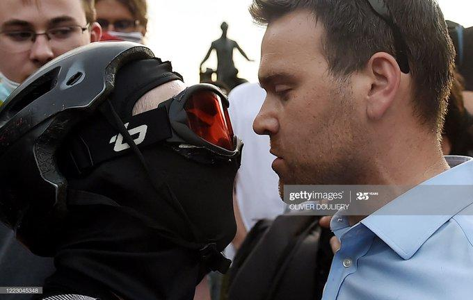 Conservative Journalist Jack Posobiec Assaulted By DC Antifa