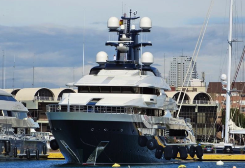 The Auction Starts Today: $250 Million Superyacht Linked To