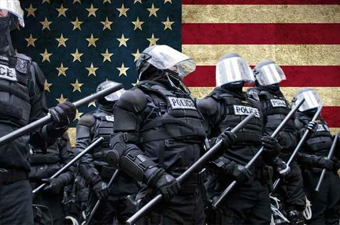 Martial Law Masquerading As Law And Order: The Police State s Language Of