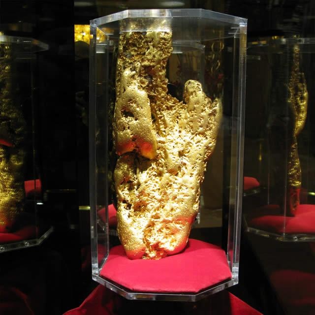 Hand of Faith gold nugget, Las Vegas