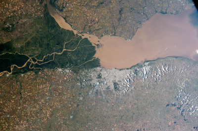 Buenos Aires and the Paraná River