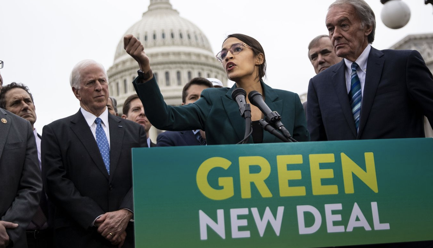"How Ocasio-Cortez's ""Green New Deal"" Almost Imploded On Its First Day"