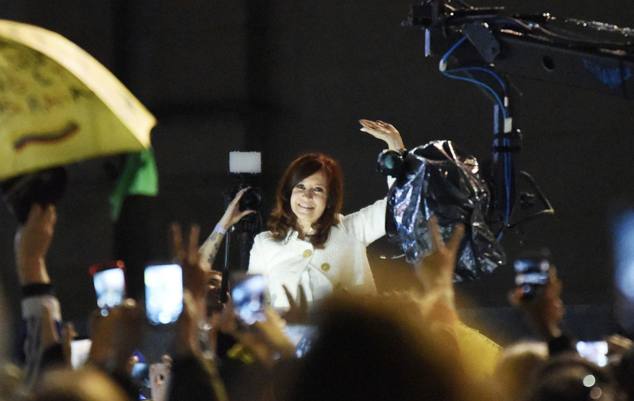 Kirchner Surprises Argentina With Bid For Vice President