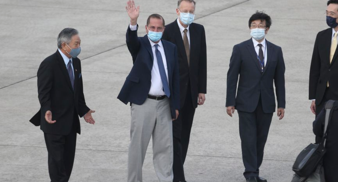 "HHS Chief Alex Azar Lands In Taiwan For ""Historic"" Visit As Beijing Slams US ""Betrayal"""