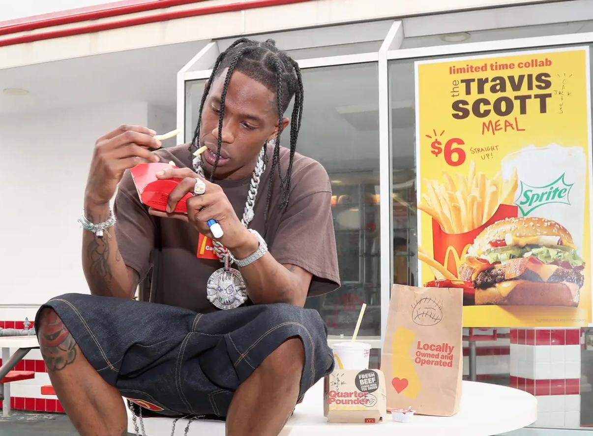 "McDonald's ""Running Out Of Burgers"" Thanks To Travis Scott Value Meal As ""Sandwich Wars"" Heat Up"