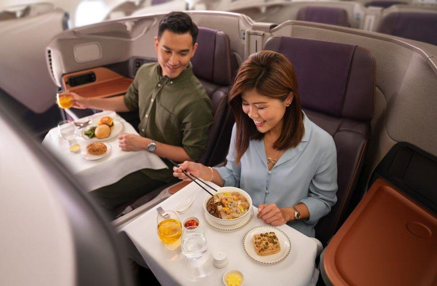 Singapore Airlines Transforms Grounded Planes Into Pop-Up Restaurants