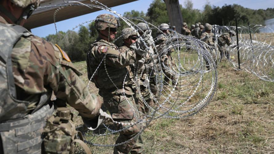 """No Military Threat"" At US-Mexico Border, NORTHCOM Chief Tells Lawmakers"