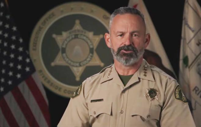 California Sheriff Slams Gov. Newsom's 'Dictatorial' Lockdowns, Won't Be 'Blackmailed, Bullied Or Used As Muscle' To Enforce