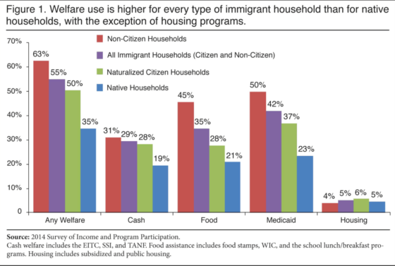 Study Shows Migrants Use Almost Twice The Welfare Benefits As Native-Born Americans