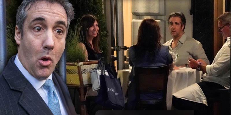 Michael Cohen Taken Back Into Custody After Being Seen At New York Restaurant