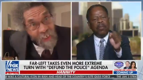 """Check Yo' Self, Negro!"": Cornel West Explodes On Leo Terrell During Hannity Debate About Defunding Police"