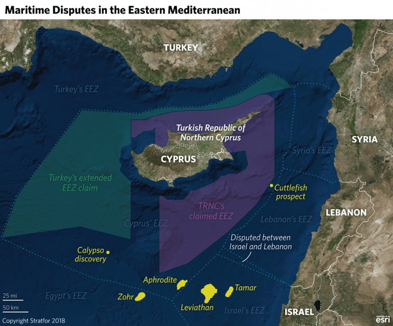 "Turkey Flexes In ""Largest Ever"" East-Med Naval Drills Amid Cypriot Oil & Gas Grab 3"