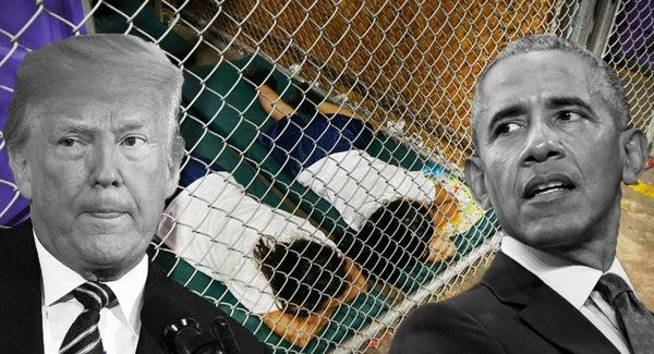 Hypocrisy At The Border: Trump Villified For Obama's Immigration Policy - The Reports