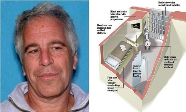 8/20/19 - Coincidence? Epstein Signed Will Two Days Before Death plus MORE Epstein%20cell_0