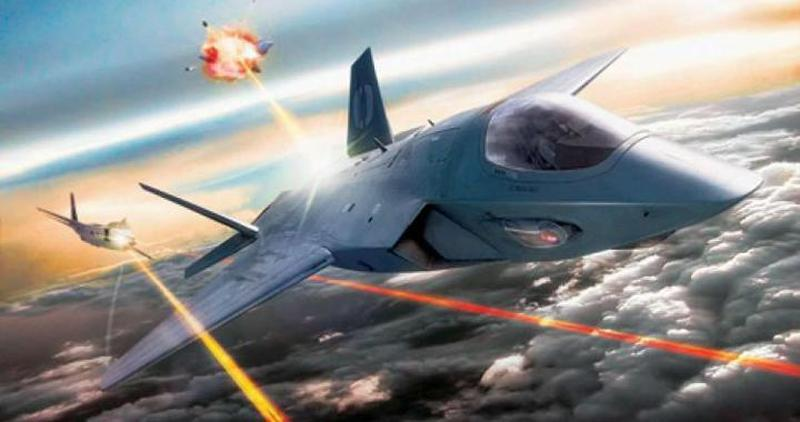 Air Force Wants To Arm Stealth Jets With Laser Cannons By 2025