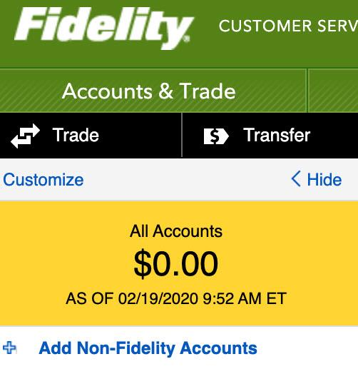 """Glitch"" Or Hack: Countless Fidelity Accounts Showing Zero Balance"