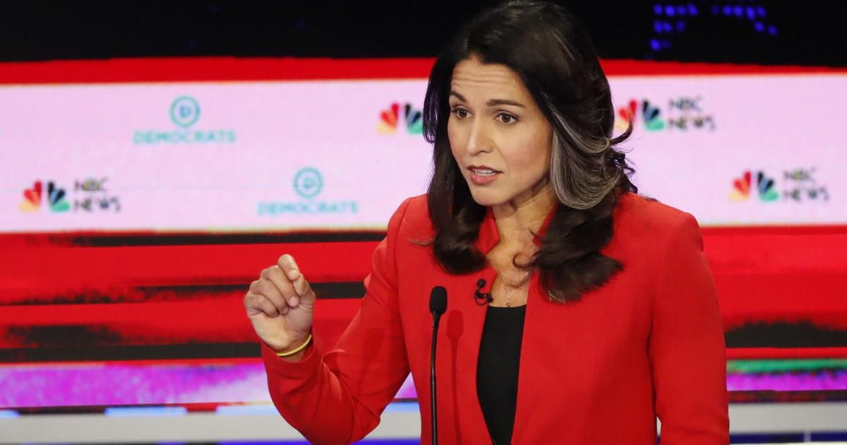 "Anti-War Democratic Candidate Tulsi Gabbard Sues Google For Campaign ""Interference"""