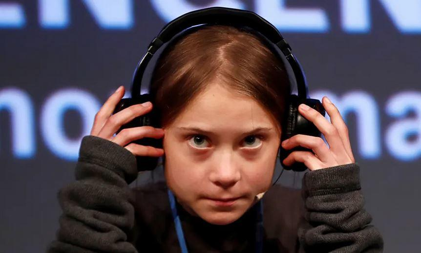 "Greta Thunberg Enraged After Climate Strikes ""Achieved Nothing"", Has Yet To Visit China Greta%20headphones"