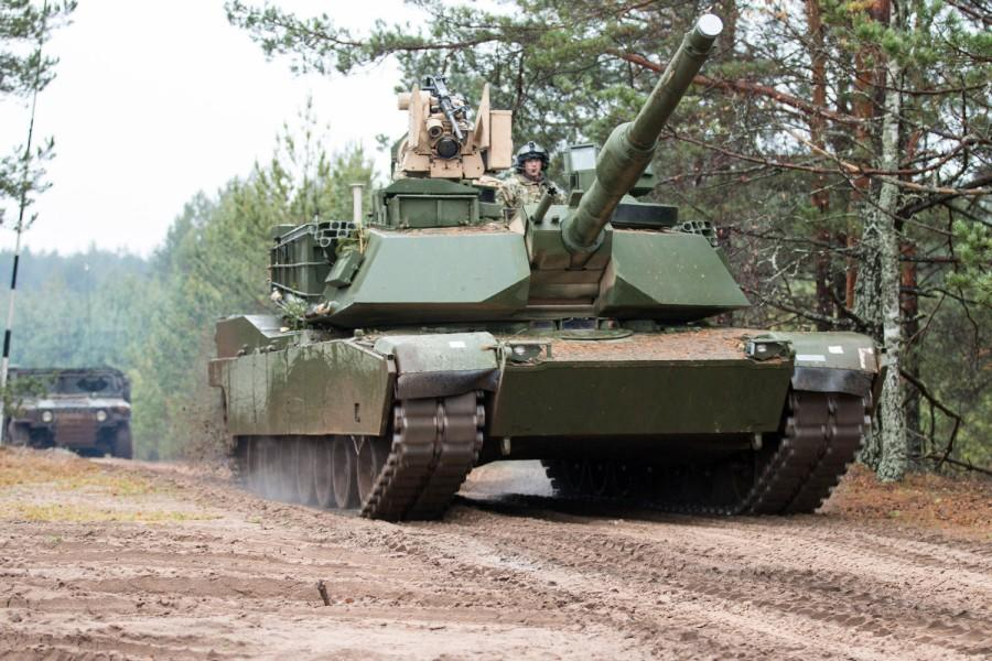 Afbeeldingsresultaat voor US Troops, Tanks Headed to Lithuania for 'Extended Mission' Meant to 'Deter Russia'