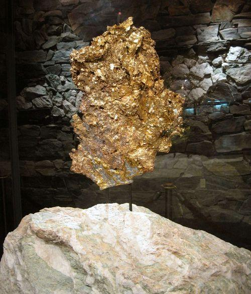 Ironstone Crown Jewel gold nugget