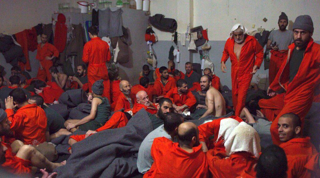ISIS prisoners in Hasakah, Image source: InvestigativeJournal.org.