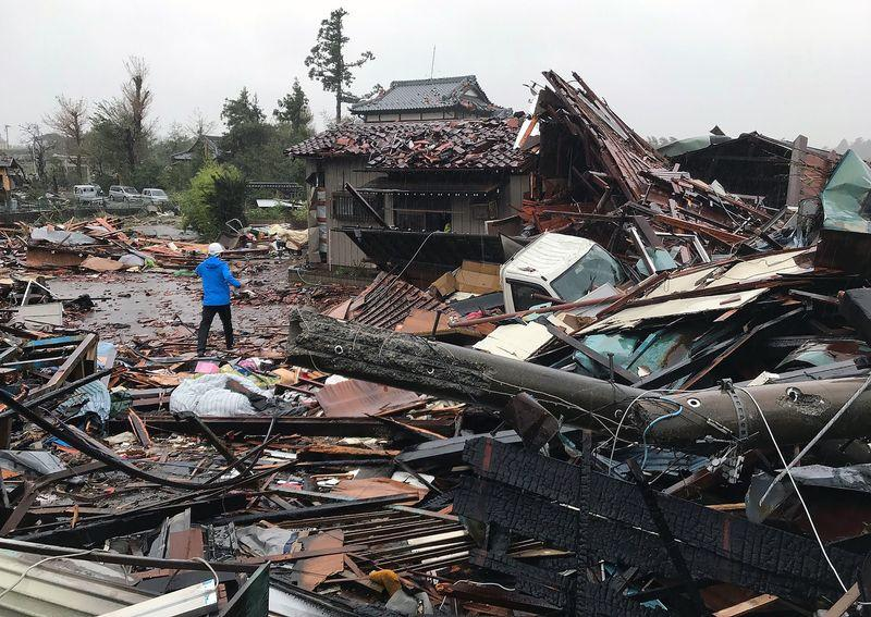 Historic Typhoon Devastates Japan; Millions Told To Evacuate Amid Flooding, Widespread Outages
