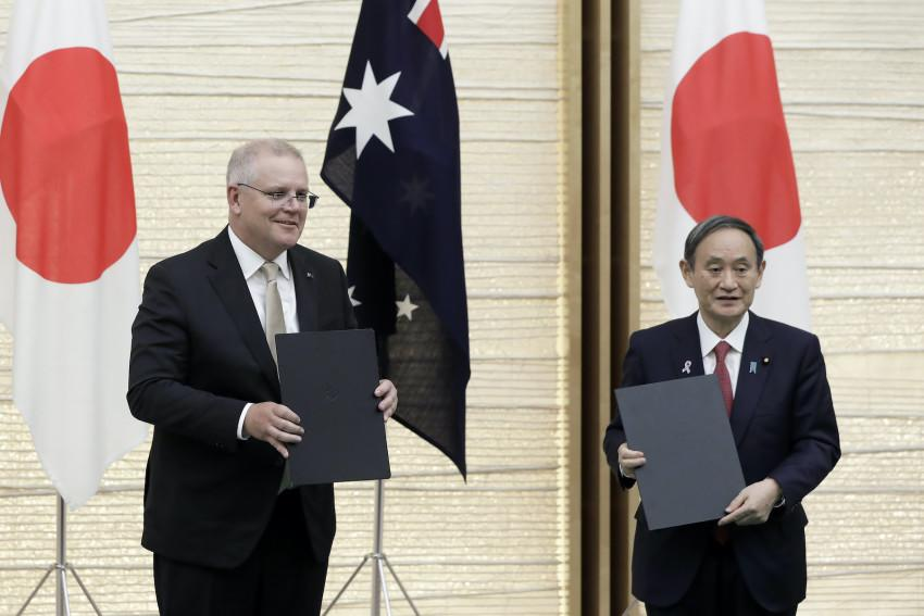 Australia To Sign Military Pact With US Ally Japan Amid Spiraling China Tensions