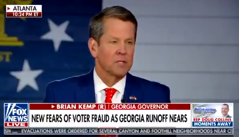 Georgia Gov. Kemp Calls For Signature Audit Following CCTV Footage Of Late-Night Ballot Malarkey