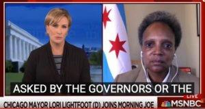 As Chicago Nears Panic, Lightfoot's Partisan Blather On National Television Only Hurts
