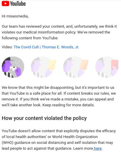 YouTube Attempts To Silence The Mises Institute