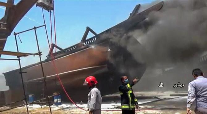 Seven Ships On Fire At Southern Iran Port In Another 'Mystery' Disaster