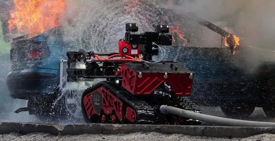 Fire-fighting Military Robots