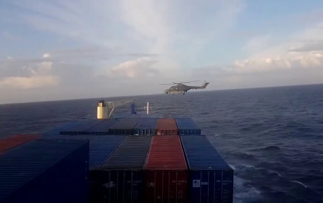 Watch: Moment German Commandos Intercept & Raid Turkish Ship Bound For Libya