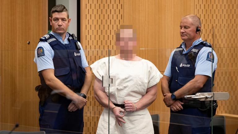 "New Zealand Mosque Shooter Flashes ""White Power"" Sign As He Is Charged With Murder"