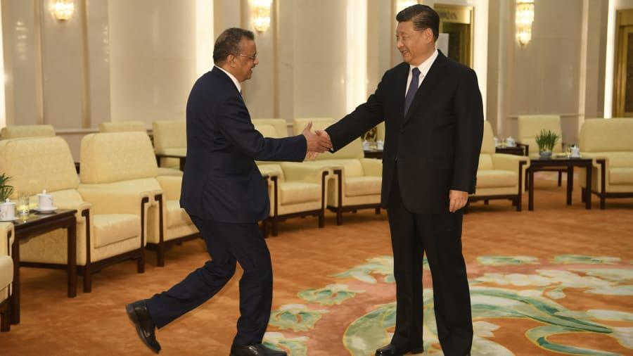 US Launches 'Full-Scale Investigation' Into Wuhan Lab Tedros%20xi_0