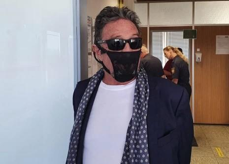 John McAfee Arrested For Wearing A  Woman's Thong As A Facemask In Germany