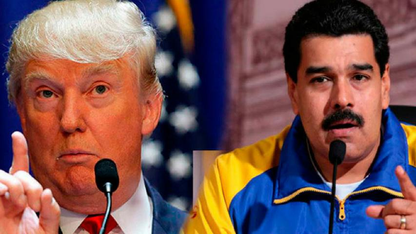 "Trump Floated ""Military Option"" In Venezuela With Sen. Graham"