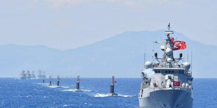 "Turkey Flexes In ""Largest Ever"" East-Med Naval Drills Amid Cypriot Oil & Gas Grab 1"