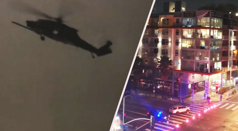 """WTF Is Going On In Downtown LA?"": Army War Drills Continue Across Los Angeles"