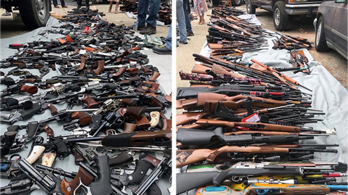'Never Seen So Many Weapons': LAPD Seize 1,000 Guns At Bel-Air Mansion