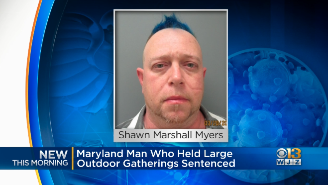 Maryland Man Jailed For One Year Following Multiple Parties During Virus Lockdown