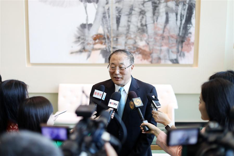 "China's UN Envoy Says ""If US Wants To Fight, We Will Fight"", Warns Beijing Will No Longer Allow Hong Kong Protests Zhang%20zun"