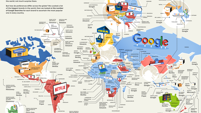 These Are The World's Most-Searched Consumer Brands